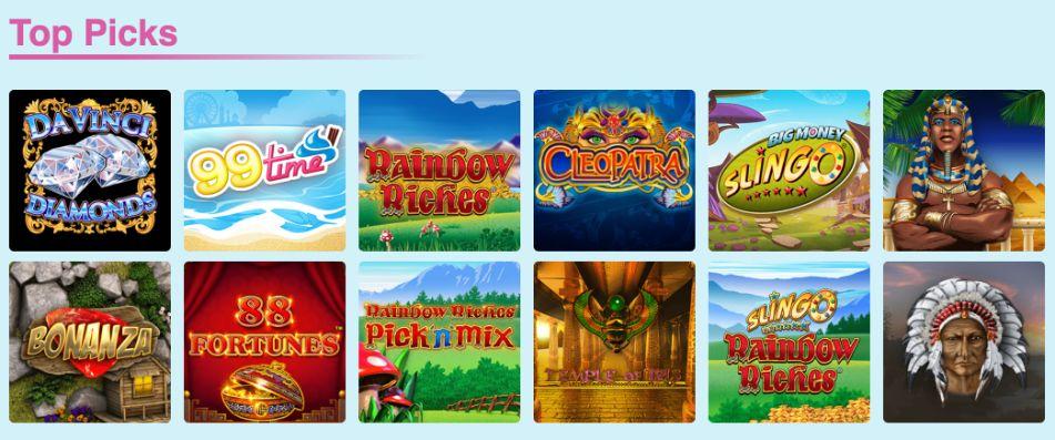 Bingo Fabulous Top Slot Sites