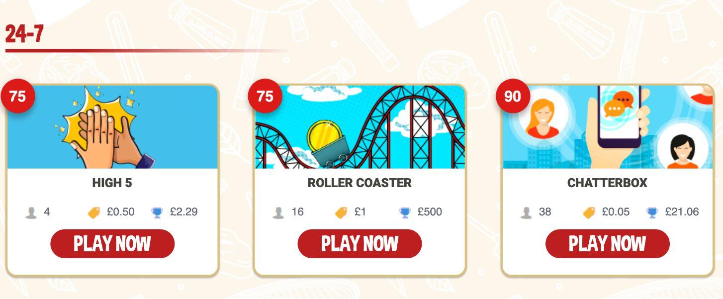 BBQ Bingo Games