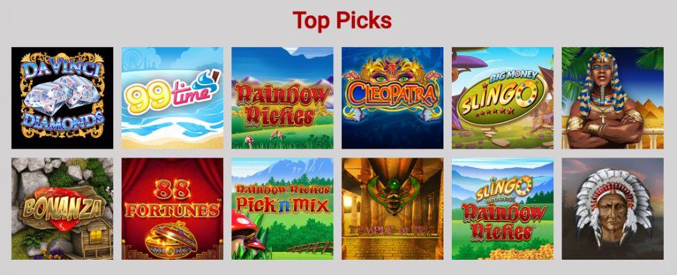 Celeb Bingo Top Slot Sites