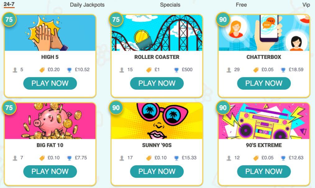 Beatle Bingo 24-7 Games