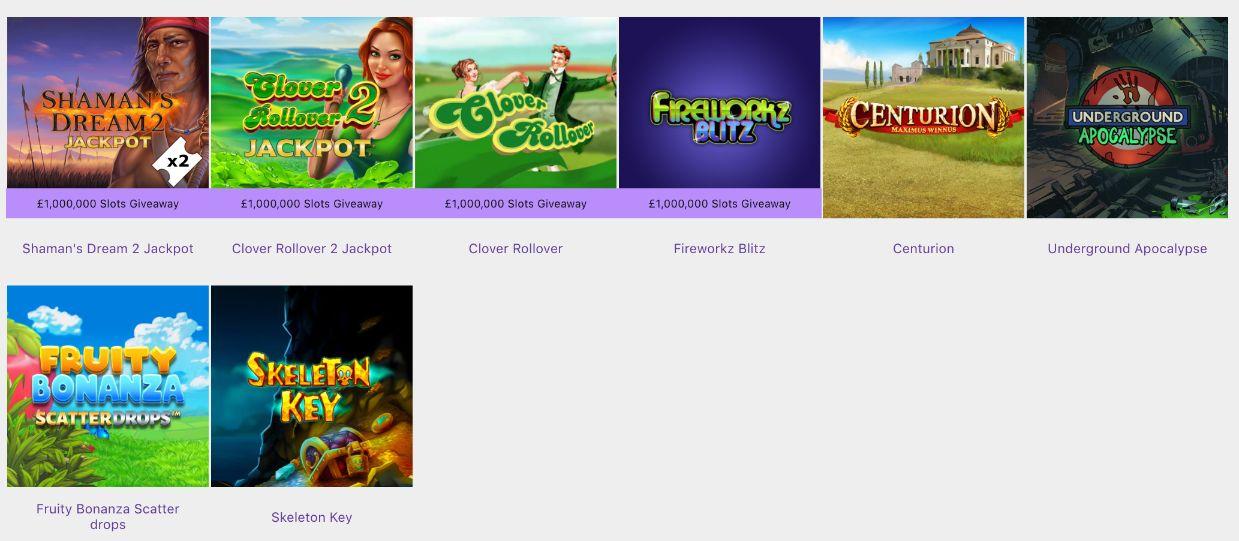 Bet365 Featured Bingo Games