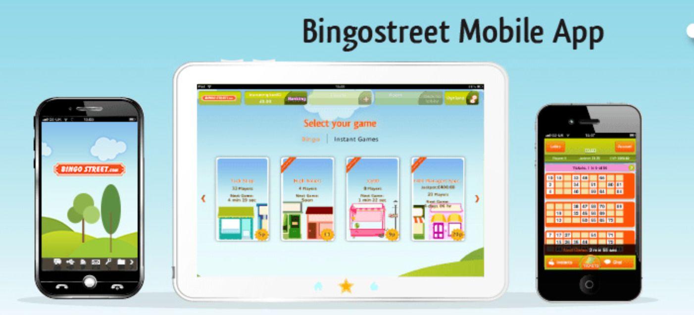 Bingo Street Mobile App