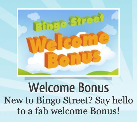 Bingo Street Welcome Bonus