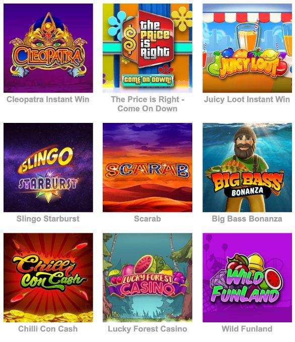 Bubble Bonus Bingo Slot Sites