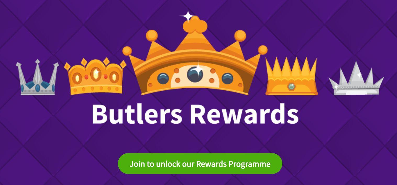 Butlers Bingo Butlers Rewards