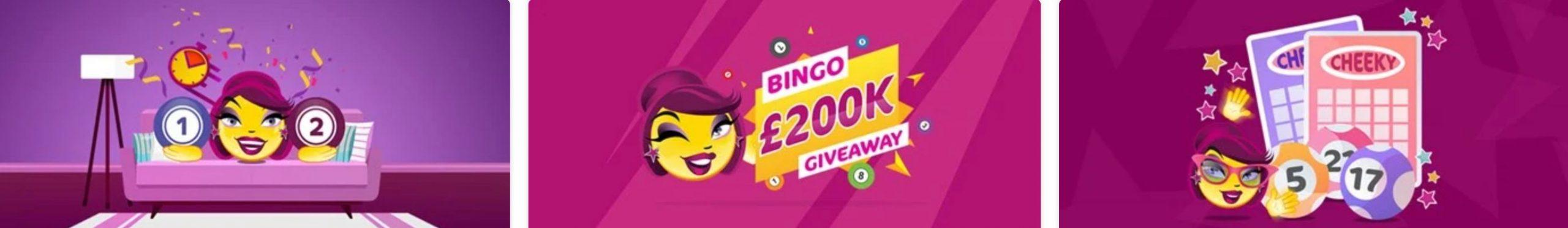 Cheeky Bingo Website Promotions