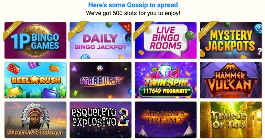gossip bingo slots