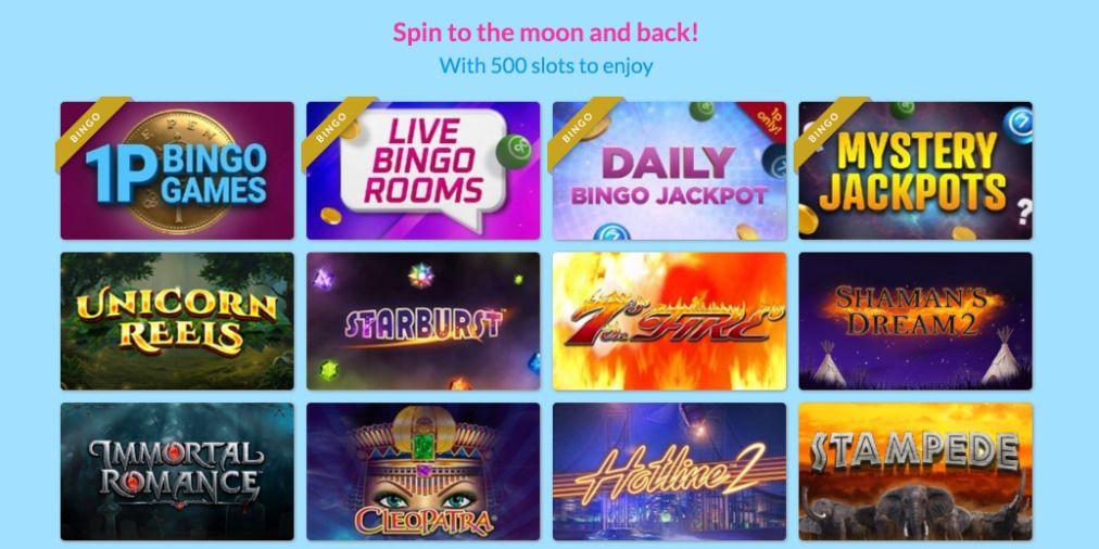 moon bingo slots