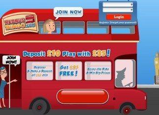 red bus bingo review