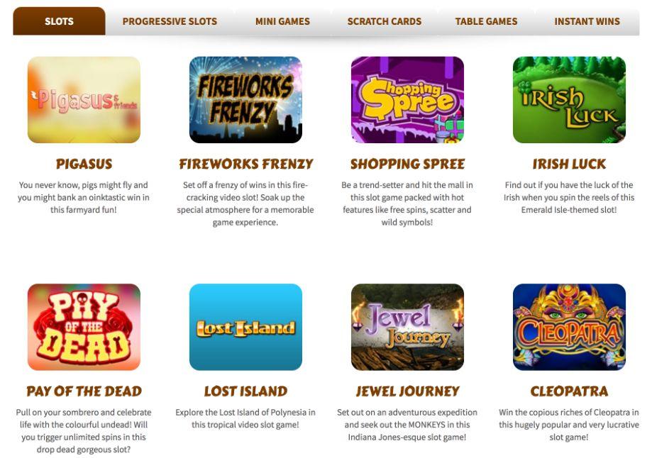 Treasure bingo slots