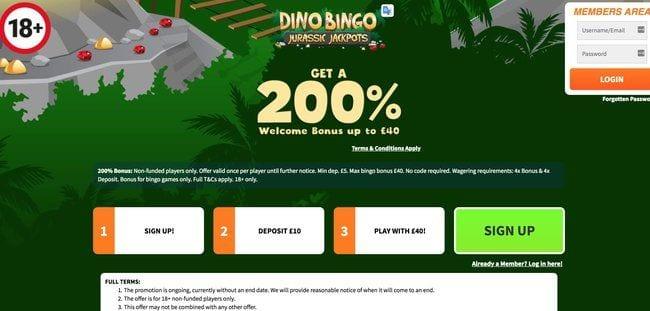 Dino Bingo Reviews