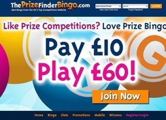 The prize finder Bingo