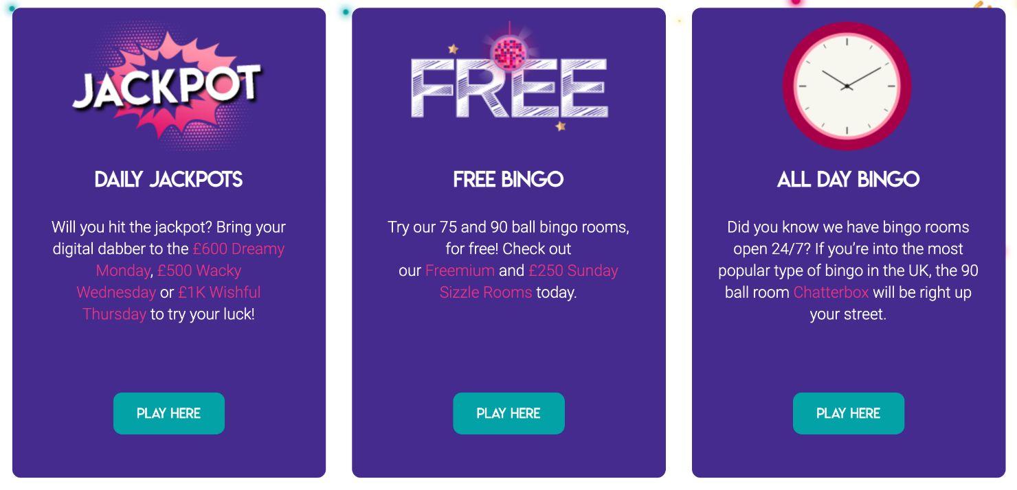 Bucky Bingo Bingo Games