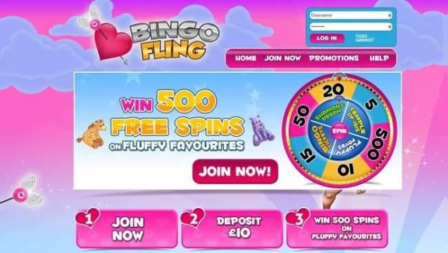 fling bingo