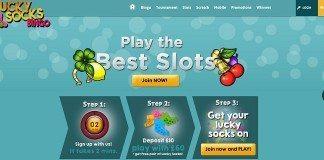 lucky socks bingo review