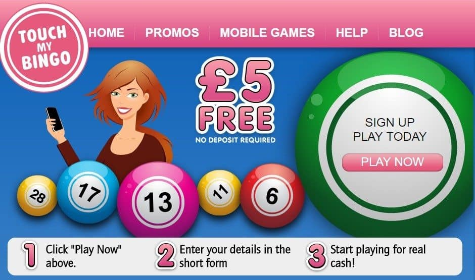 Touch My Bingo Casino Review