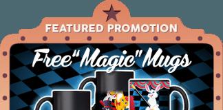 lucky wheel mugs giveaway