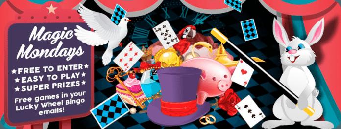 magic mondays lucky wheel