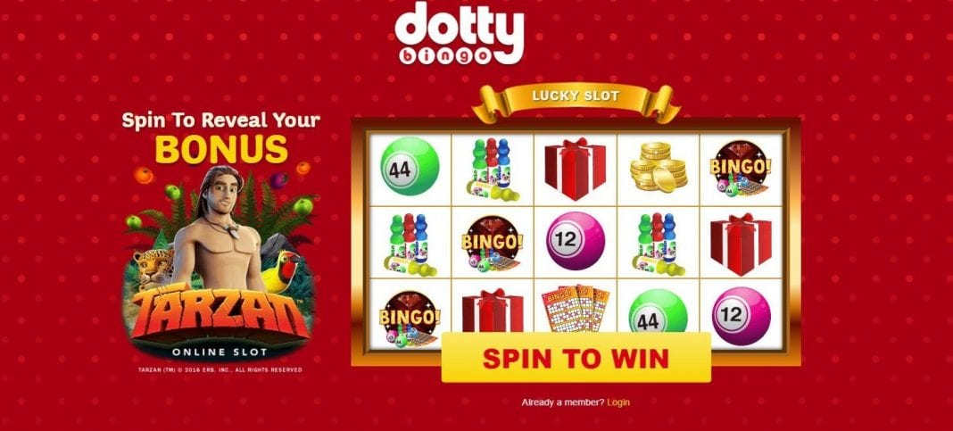 Dotty Bingo Review – Deposit £10 Play With £40 + 50 FREE Spins