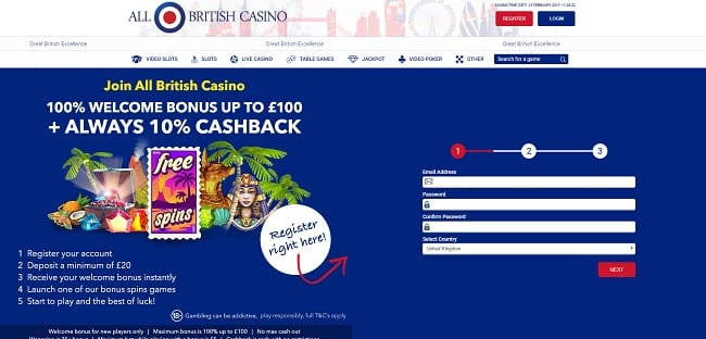 All British Casino Reviews