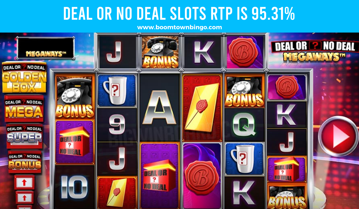 Deal or No Deal Slots Return to player