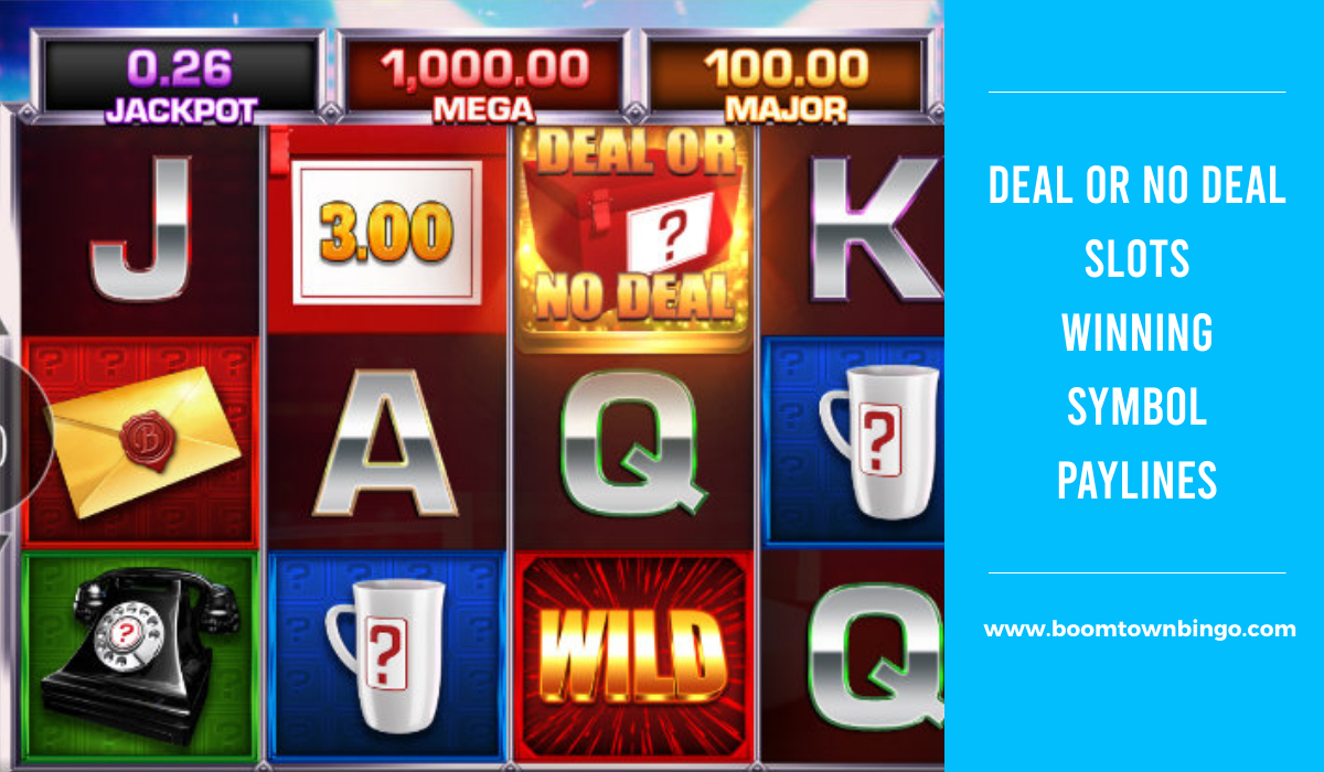 Deal or No Deal Slots Symbol winning Paylines