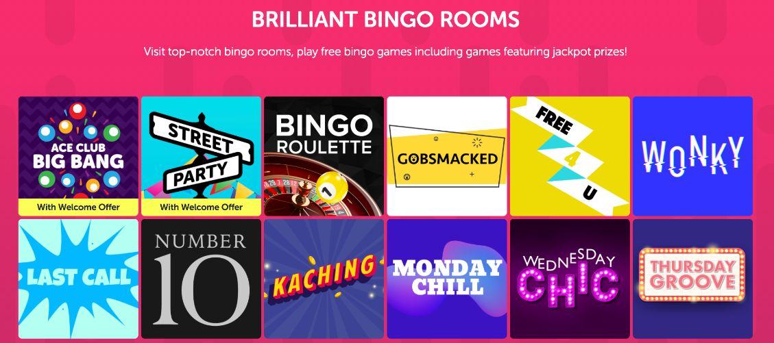 Dabber bingo bingo rooms