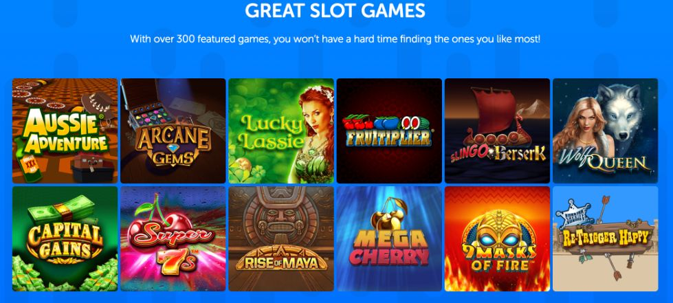Dapper Bingo slot games