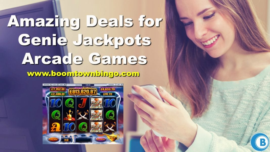 Amazing Deals for Genie Jackpots Arcade Games