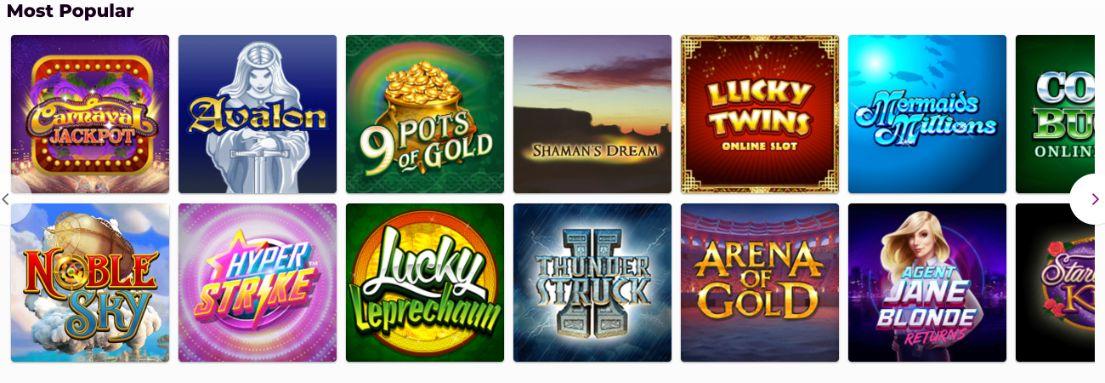Bingo Diamond Slot Games