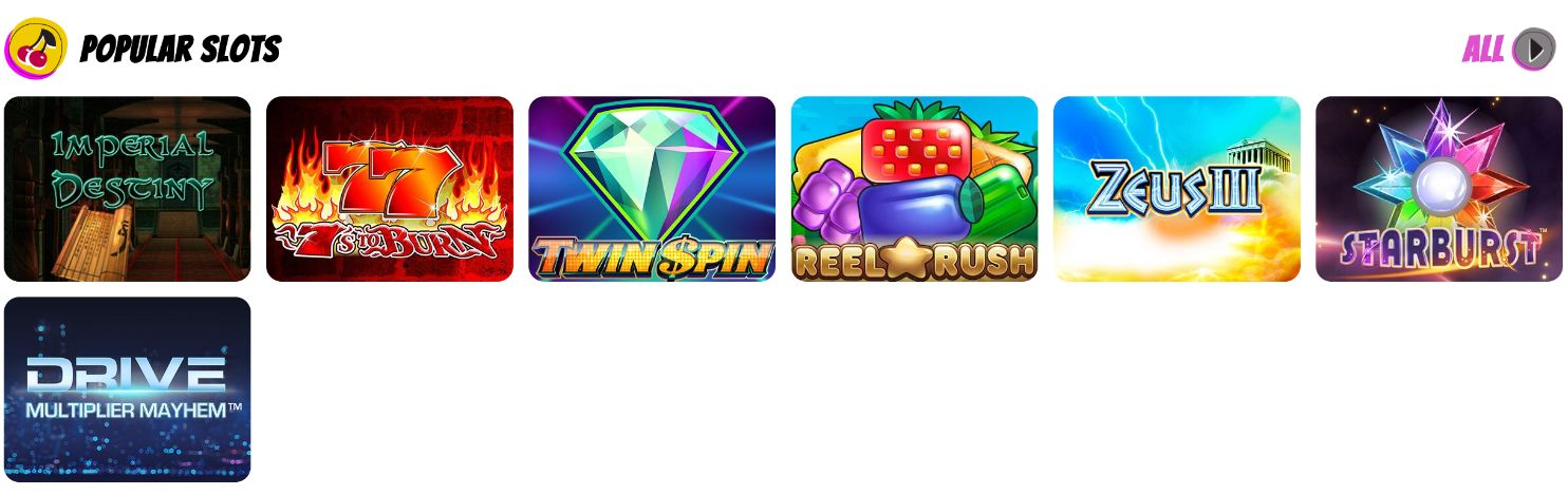 Bingorella Popular Slot Games