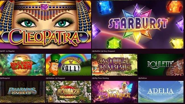 Chomp Casino Games