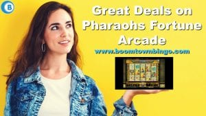 Great Deals on Pharaohs Fortune Arcade