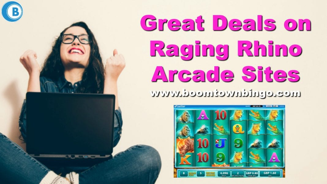 Great Deals on Raging Rhino Arcade Sites