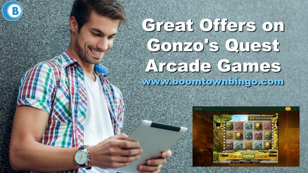 Great Offers on Gonzo's Quest Arcade Games