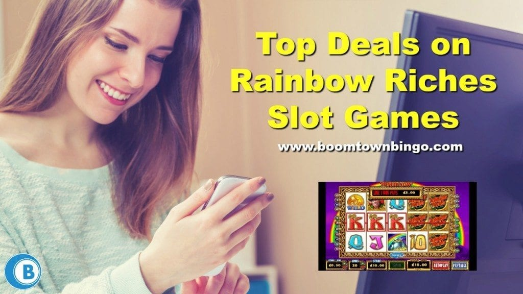 Rainbow Riches Online Slot Machine