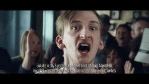 Actor in Ladbrokes advertisement