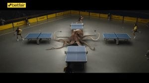 Betfair Octopus Advert