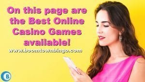 Best Online Casino Games Available