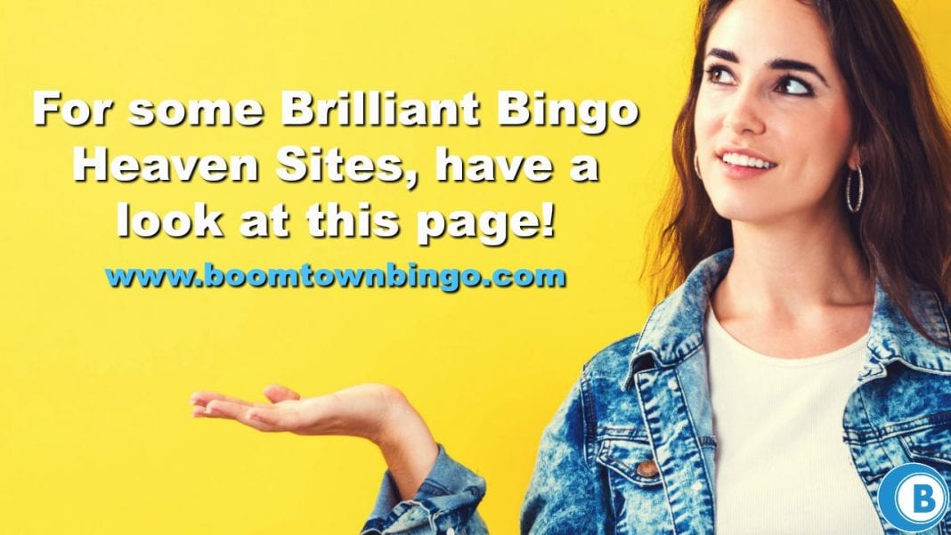 Brilliant Bingo Heaven Sites
