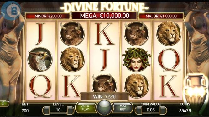 Divine Fortune Slot Sites