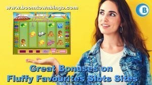 Great Bonus on Fluffy Favourites Slots