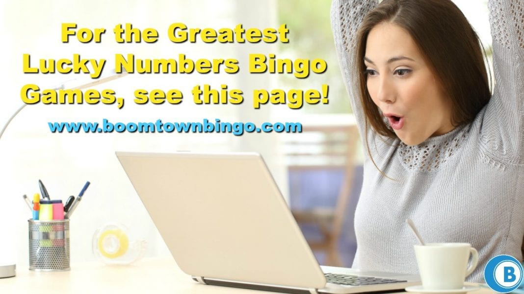Greatest Lucky Numbers Bingo Games