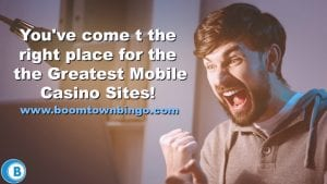 Greatest Mobile Casino Sites
