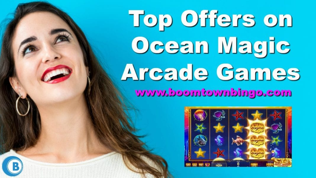 Top Offers on Ocean Magic Arcade Games