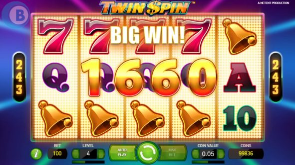 Twin Spin Slots Big Win