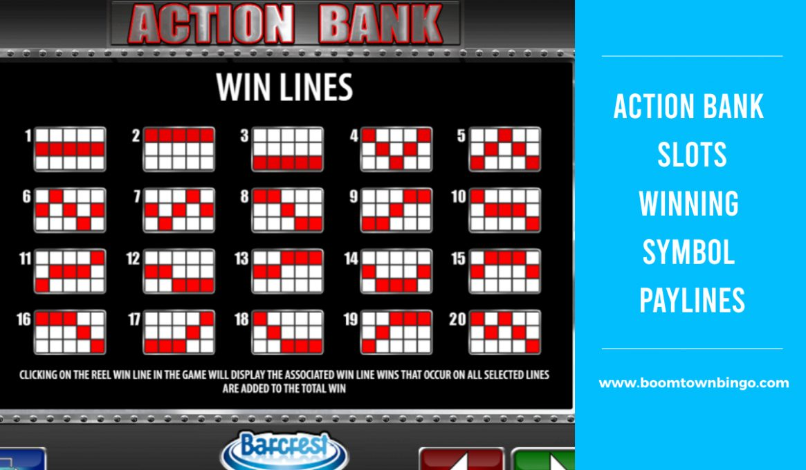 Action Bank Slots Winning Paylines