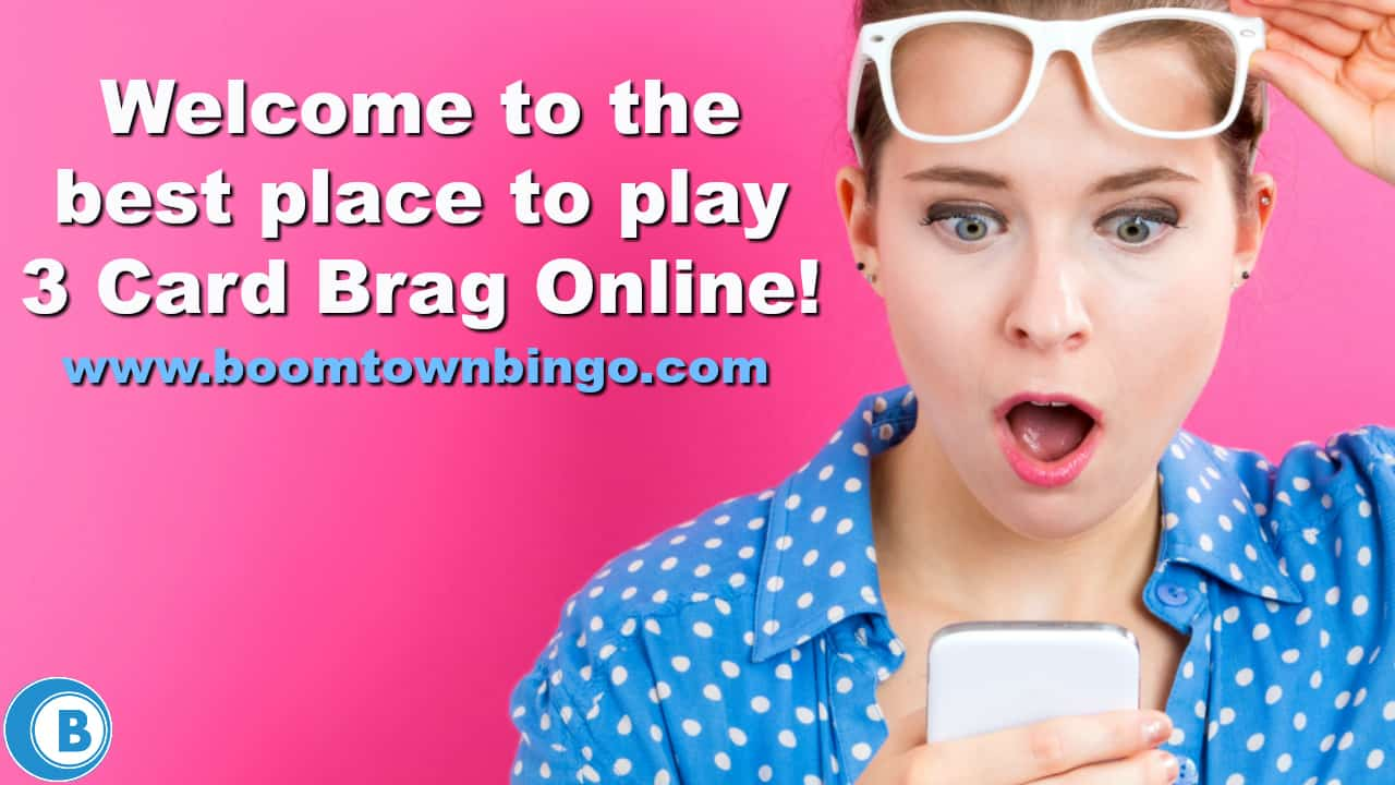 Play 3 Card Brag Online | Grosvenor Casinos