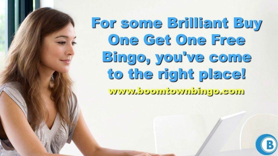 Brilliant Buy One Get One Free Bingo