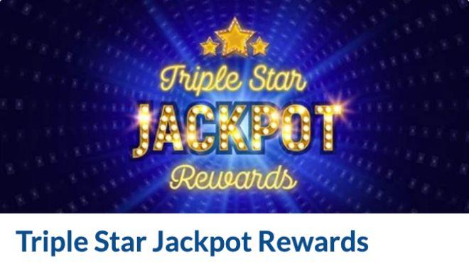 Coral Bingo Triple Star Jackpot Rewards